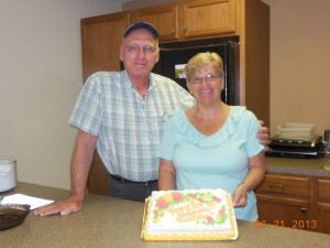 Fred and Ruth Brinks 50th Anniversary